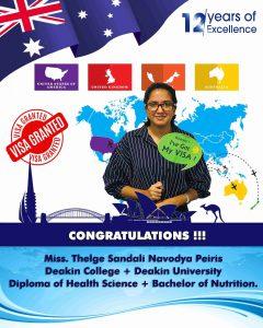 Congratulations Miss: Navodya
